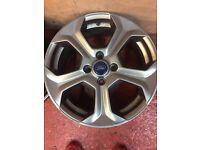 "Ford Fiesta ST alloy wheels 17"""