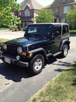 Jeep tj 2004 93 000km Like New