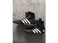 Adidas pro boxing shoes
