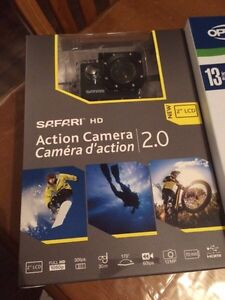 Go pro/ safari HD action camera 2.0 and kit