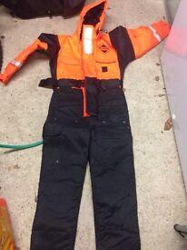 Fishing flotation suit - junior