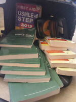 usmle step 1 kaplan books dvds,first aid n much more