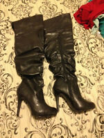 Spring boots size 6 Fit like a 6 1/2 or 7