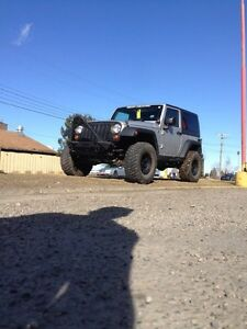 Lifted 08 Jeep Wrangler