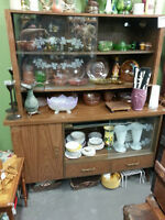 """RETRO CHINA CABINET FROM THE 70""""s"""
