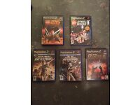 PlayStation 2 games , Star Wars job lot