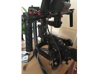DJI Ronin Gimbal with remote and bluetooth controller