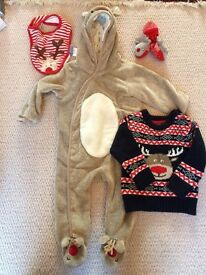 6-9 months baby Christmas outfit