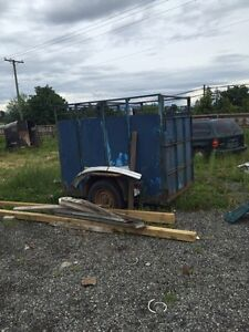 8FT By 5FT wide Trailer for sale!