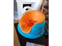 Baby Seat ( £5 ) Blue and Orange No Holding As on other Sites