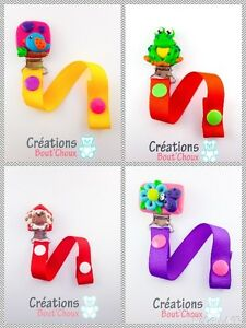 Attaches suces / pacifier holders