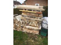 Timber skids 50p