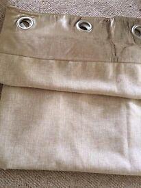Velvet and linen John Lewis curtains