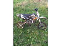 110 pit bike manual £350 animal