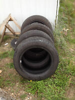 4 Goodyear Eagle LS M+S tires, 275/55/20