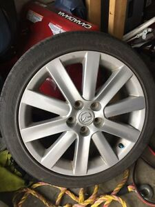 MazdaSpeed3 wheels + tires