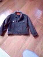 Danier suede leather jacket for a boy