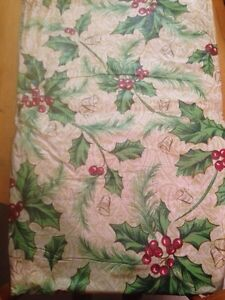 Flannel back Table Cloth