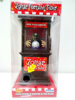 ZOLTAR FORTUNE TELLER talks glows flashes MINI video PSYCHIC