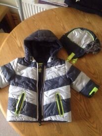 6 to 9 months jacket & hat