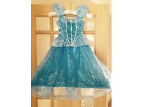 Disney store Cinderella dress size 3-4 years