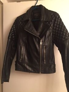 All Saints women's  leather jacket Downtown-West End Greater Vancouver Area image 2