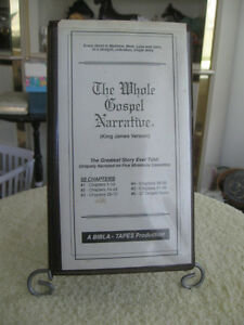 "RECORDED CASSETTE ALBUM ""THE WHOLE GOSPEL NARRATIVE"""