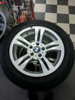 "4 BMW ORIGINAL RIMS 5 BOLTS //17""//4.75 BOLTS"