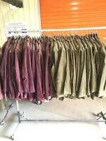 LOT of women's suede coats for sale