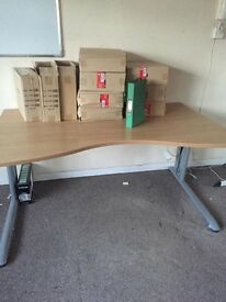Office tables great condition job lot