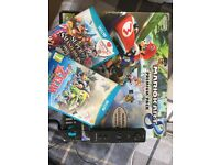 Wii U 32GB + games + extra controller