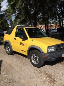 2002 CHEVROLET TRACKER -EXCELLENT CONDITION- GODERICH