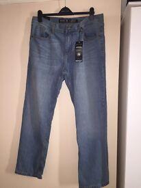 Mens Burton Jeans 36w 30l brand new!!