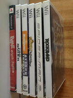 Like new PS2 & Wii games with drums, guitar, and mic.