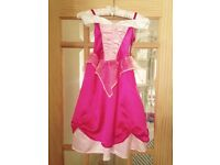 Disney store Sleeping beauty dress size 3-4 year