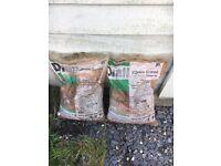 2 bags of gravel
