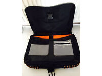 Quality laptop bag with multiple other accessories pockets,immaculate,bargain at £20