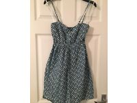 Woman's blue summer dress, size 10