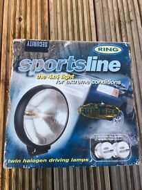 Car spot lights