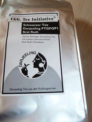 1kg Darjeeling Schwarztee Initiative, first flush FTGFOPI - Flush