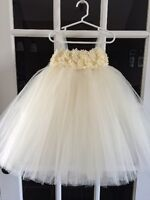 Custom Handmade Flower Girl Dress