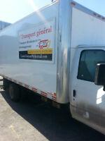 cherche travail comme chauffeur avec camion 16p