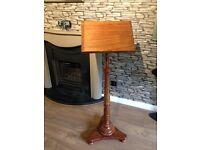 Beautiful solid wood music stand/lectern