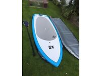 Surf Stand up paddle board SUP 6months old great deal cost over £850 New. In Cornwall