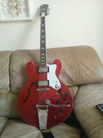 AMAZING MIK 1995 EPIPHONE RIVIERA FOR SALE! MOJO FOR DAYS!