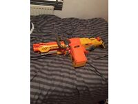 Nerf gun just needs bullet belt