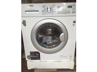 New AEG L61271WDBI Integrated Washer Dryer, 7kg Wash/4kg Dry Load Rrp £599