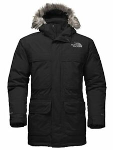 Mens North Face Jacket, McMurdo Parka III, size Large