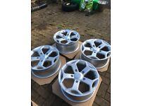 Transit van sport 18 inch alloys st custom silver wheels