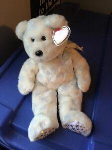 The Beginning the bear Ty Beanie Buddy stuffed animal Kitchener / Waterloo Kitchener Area image 2